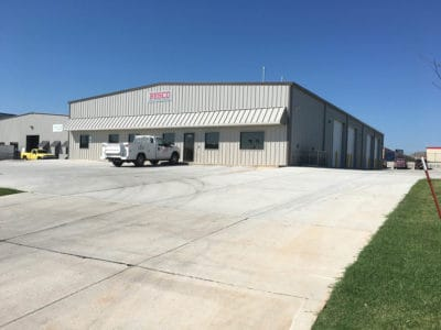 BESCO Building Electrical Systems metal building project in Tulsa, Oklahoma.